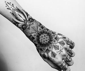 art, Tattoos, and mandalas image