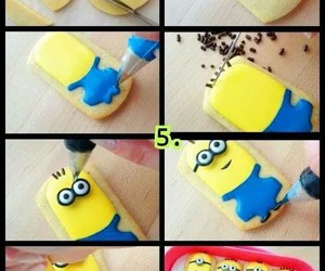 minions, Cookies, and food image