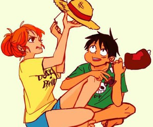 luffy, one piece, and ñami image
