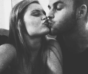 black and white, couple, and tumblr image