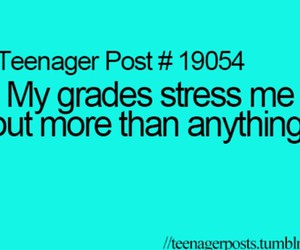 stress, teenager, and teenager post image