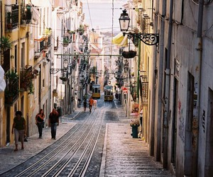 city, street, and travel image