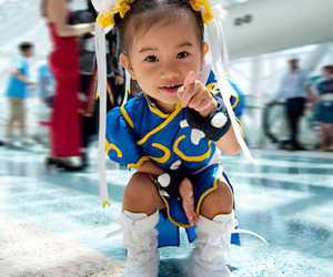 cute, cosplay, and street fighter image