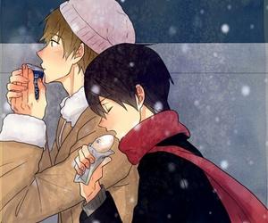 anime, haru, and cold image