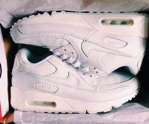 white, air max, and fashion image