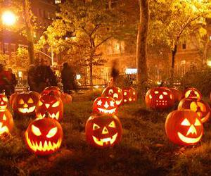 beautiful, Halloween, and funny faces image