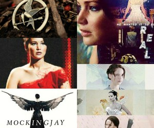 katniss, hunger games, and everdeen image
