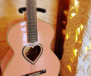 guitar and heart image