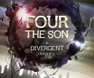 four, divergent, and book image