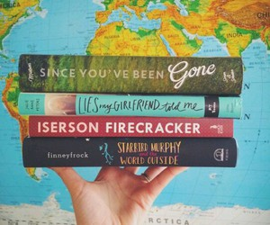 books, world, and since you've been gone image
