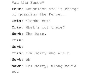 four, newt, and the maze runner image