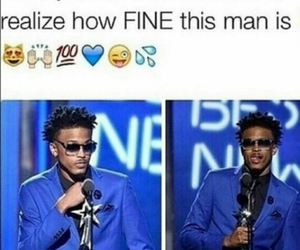 fine and august alsina image