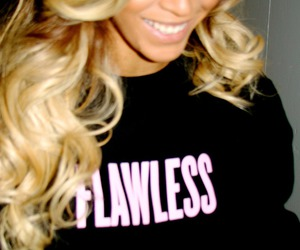 beyoncé, flawless, and smile image
