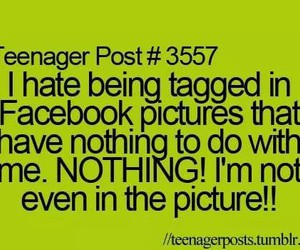 teenager post, facebook, and quote image