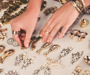 accessories, brilliant, and golden image