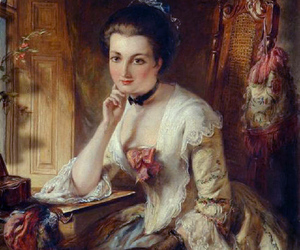 18th century, beauty, and lady image