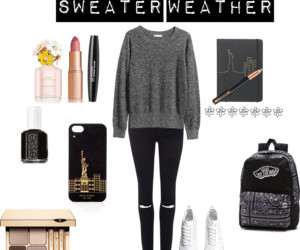 outfit and sweater weather image