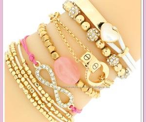 bracelets and heart image