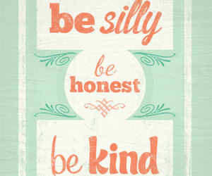 quotes, silly, and kind image