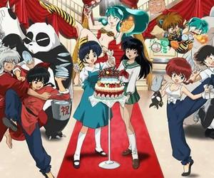anime, ranma, and inuyasha image