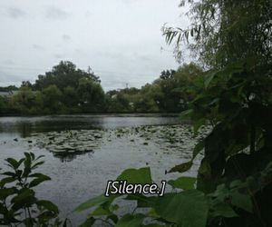 grunge, silence, and nature image