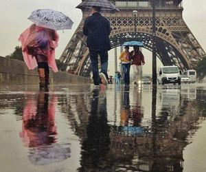 effel tower, streetshot, and travel image