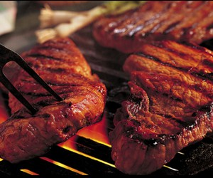 food, meat, and steak image
