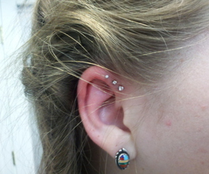 helix, helix piercing, and triple helix image