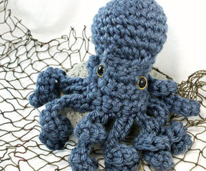 crochet, knit, and nautical image