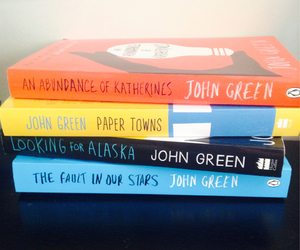 john green, looking for alaska, and the fault in our stars image