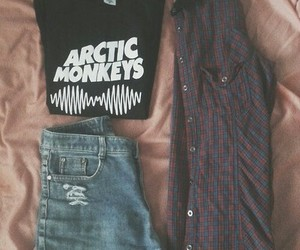 outfit, fashion, and arctic monkeys image