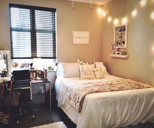 bedroom, home, and small image