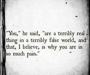 quotes, pain, and real image