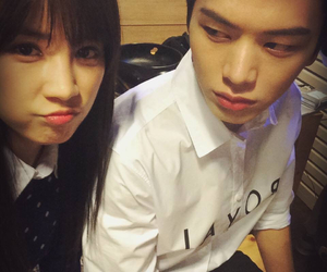 couple, kpop, and sungjae image