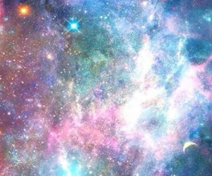 galaxy and colours image