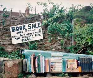 book, vintage, and sale image