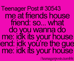 friends and teenager post image