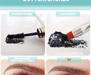 makeup, mascara, and diy image