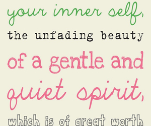 quote, beauty, and bible image