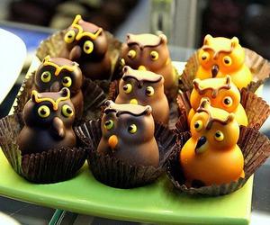 owl, cake, and food image