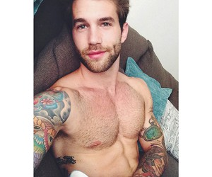 cute boy, model, and Tattoos image