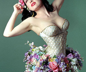 ballet, corset, and crown image