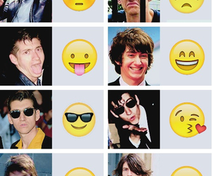 alex turner, arctic monkeys, and emoji image