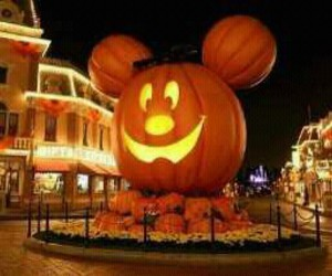 Halloween, disney, and pumpkin image