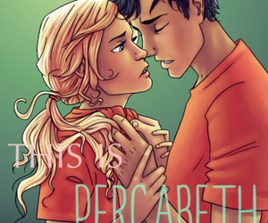 percy jackson, percabeth, and love image