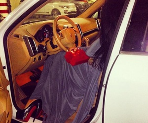 luxury, car, and dress image