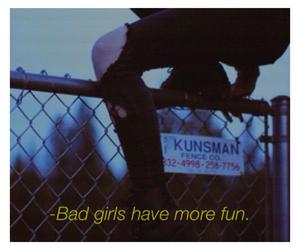 girl, grunge, and bad girls image