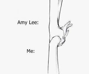 amy lee, arms, and evanescence image