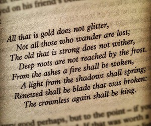 quotes, book, and LOTR image