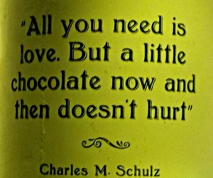 beatles, chocolate, and love is all you need image